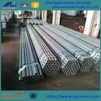 Fence post galvanized steel pipe for greenhouse building material
