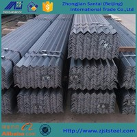 Standard sizes hot rolled equal unequal steel angle iron weights