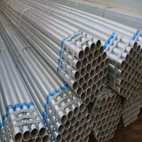 High quality galvanized steel pipe tube for building