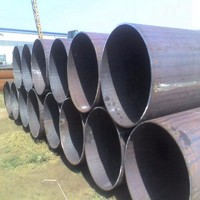 black iron welded steel pipe