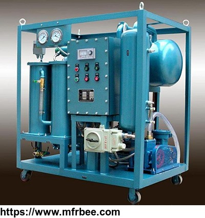 mobile_double_stages_vacuum_transformer_oil_purification_plant