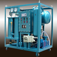Mobile Double Stages Vacuum Transformer Oil Purification Plant