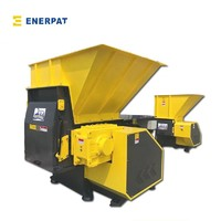 Mobile phone shredder single shaft shredder machine