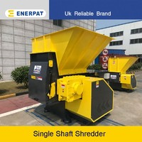 wood shredder single shaft solid waste shredder machine for sale