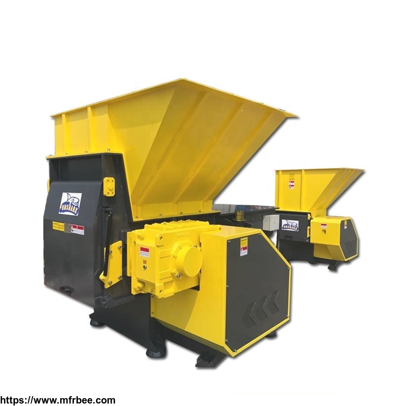 Scrap Wire Single Shaft Waste Shredder Machine