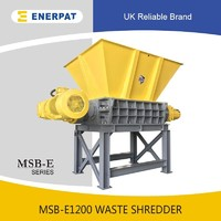 Cheap waste shredder for sale two shaft shredder machine