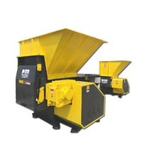 Compact Waste Shredder Single Shaft Shredder