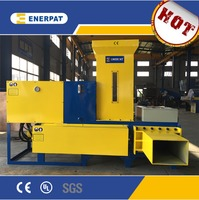 Wood shaving baler from china for sale rice husk bagging machine