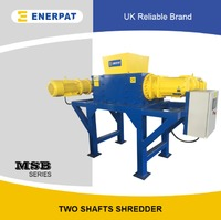Two shaft shredder scrap shredder plastic shredder