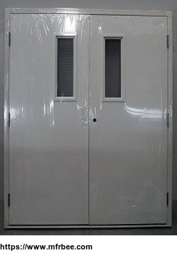 Double Leaf Swing Type Fire Door Mfrbee Com