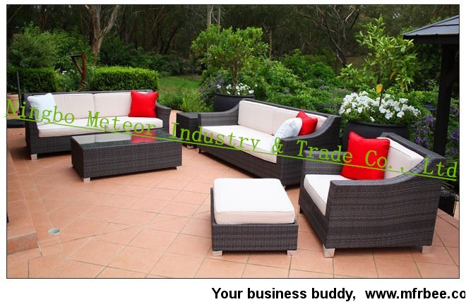 outdoor table and chairs wicker furniture set rattan couch