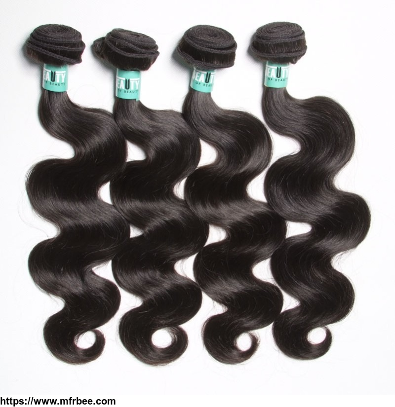 100% virgin human hair products malaysian hair bundles