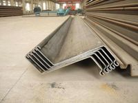 Z type Sheet Pile pipe steel