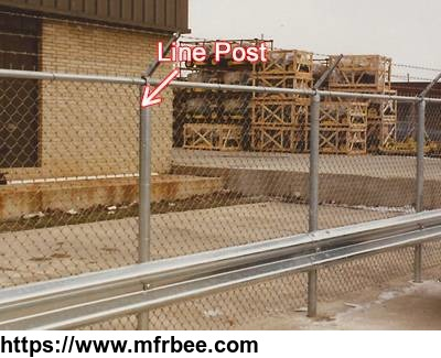 commercial_chain_link_fence_post