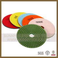 marble concrete floor Diamond wet dry polishing pad