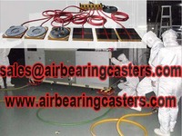 Air caster system advantages and price list