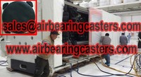 more images of air bearing caster via compressed air as power source