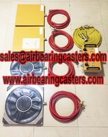 Air casters details with pictures manual instruction