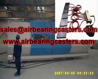Air bearing skids equipment is very good