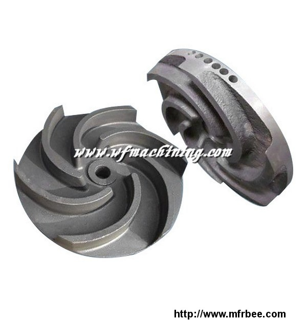 high_precision_pump_impeller_with_drawings_for_manufacture