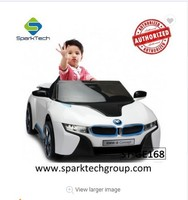 Best Quality BMW I8 Licensed scooter for children ride-on toy ride on kids car remote control
