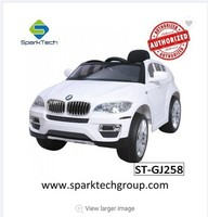 Popular Licensed BMW X6 Four Wheels Drive Kids Children Toys Car Electric Ride on Cars
