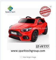 more images of licensed Ford Focus RS children ride on baby electric car/electric toy car for kids