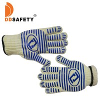 Kitchen Grill Silicon Heat resistant Protection BBQ Cooking gloves 350 Degree And 500 Degree