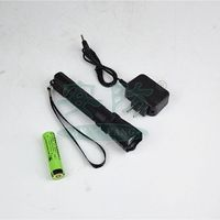 non sparking flashlight torch , pvc material with battery