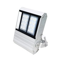 beautiful design 50-100w led flood light anodizing aluminum extrution housing with lens