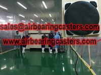 Air casters advantage and price list application