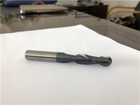China Precision high quality Solid Carbide Ball nose mill manufacture