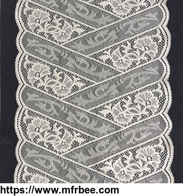 Good price Latest OEM accept polyester soft handfeel embroidery lace lace trim fabric