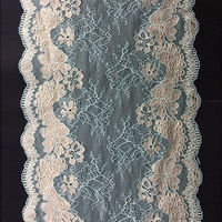 wonderful design cheap jacquard lace fabric for bridal skirt