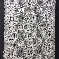 Custom elegant 87% nylon 13% spandex 3d stretch lace Trim  manufacturer