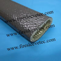 fire resistant high temperature sleeve