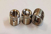 Both heat and wear resistant Self-tapping screw thread insert