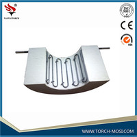 High temperature Torch electric MoSi2 molybdenum disilicde heater for electric furnace