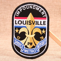Louisville Custom Embroidered Patches