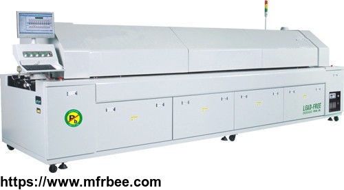 top8820n_smt_assembly_equipment_automatic_10_zones_lead_free_reflow_oven