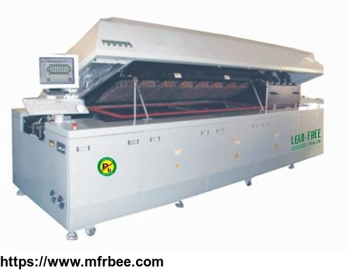 automatic_smt_assembly_equipment_10_zones_lead_free_nitrogen_reflow_oven