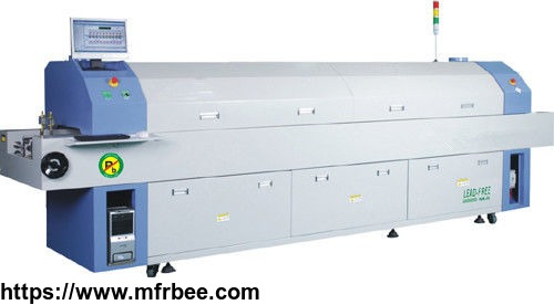 lead_free_nitrogen_reflow_oven_with_lead_smt_patent_heating_technology