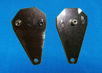 Black Rolled Steel AI Spare Parts 561-R-0350 LEVER For TDK Machine