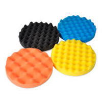 used in Cars  soft custom size polish applicator pads for car