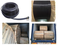Multipurpose LLDPE/LDPE electrical pipe accessories wire Box Square Plastic cable casing for underground using/wall mounted