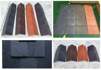New design fashion low price synthetic natural plastic roof tile/slate/material sheet