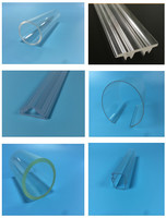 Newest large diameter transparent and clear acrylic/PMMA plastic tube/PMMA pipe