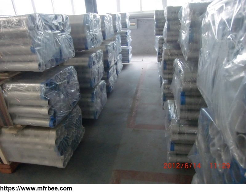 Aluminum Extrusion Flat Tube Round Thin Wall Aluminum Tube