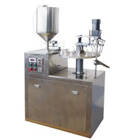 Semi auto 502 Cyanoacrelate adhesive filling and capping machine