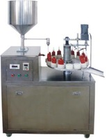 Semi auto Anaerobic adhesive filling capping machine